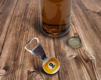 Valentine's Day Gift - Bottle Opener - 9 Ball