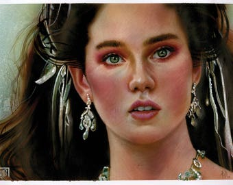 Jennifer Connelly as Sarah from Labyrinth (1986)