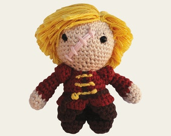 Tyrion Lannister - Game of Thrones. Amigurumi Pattern PDF, DIY, Crafts, Crochet Pattern, The Imp, The Halfman, Doll, Geek, Gift, TV, Series