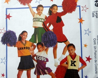 McCalls 2849 Children's and girl's Costumes in Sizes 8-10