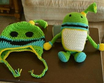 Crochet Umizoomi  bot  and  hat, team umizoomi, Christmas gift,
