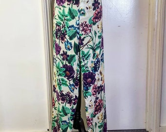Floral Floaty Trousers