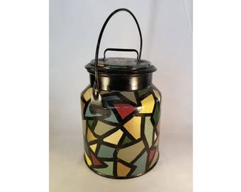 Colorful Metal Jug