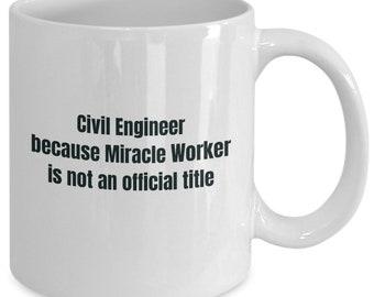 Civil engineer gifts coffee travel cup mug gift men women