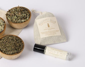 Cold and Flu Aromatherapy Roll On Only - Cold Relief - Flu Relief