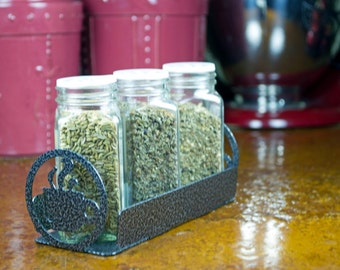 Laser Cut Condiment Holder: Esspresso Design