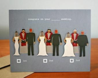 Practice Marriage Complete - Funny Wedding Congratulations Card