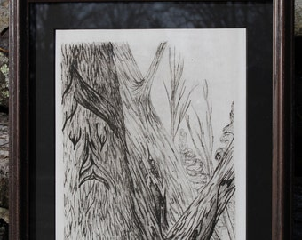 Lithography, Two Unique Friends, 4 of 5