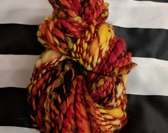 Hell Fire Artistic Yarn weaving Crochet