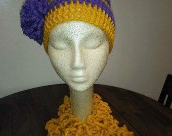 Sashay Hat and scarf set
