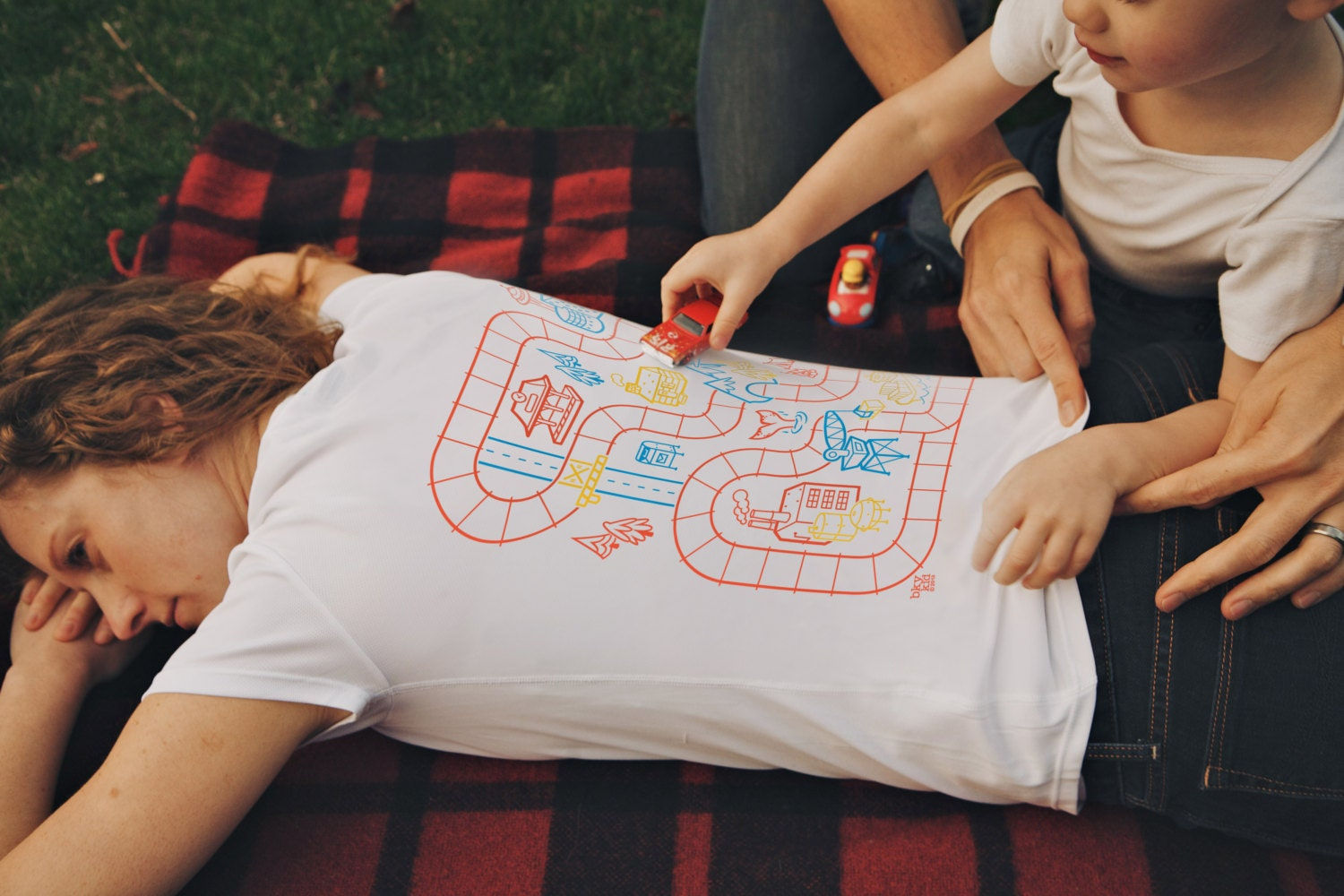 Xl play mat shirt for mom mom of boys shirt back rub shirt zoom negle
