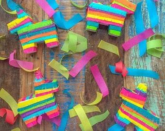 Mini Pinata (6), Pinata, Mini Piñata Favors, Mini Donkey Pinata, Cinco de Mayo, Bridesmaid Proposal, Mexican Wedding Favors, Fiesta Favors