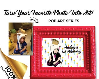 Custom Photo to Art Print - Pop Art Series