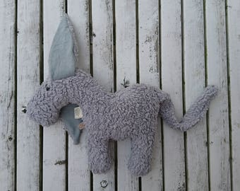 """organic cuddly toy """"Piet"""" with costomizable ears"""