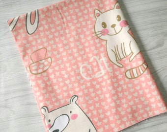 1 x coupon 50x160cm sewing patchwork fabric animal Teddy bear boy
