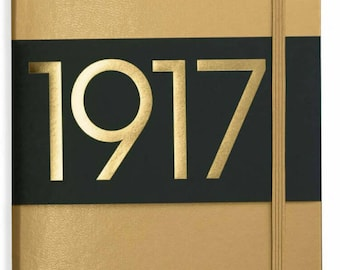 Leuchtturm1917 Special Metallic Anniversary Edition - Gold Limited A5 bujo