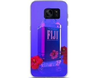 Vaporwave fiji water Samsung Case