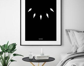 Black Panther Minimalist Poster