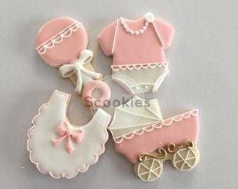 High Quality Baby Shower Cookies,Itu0027s A Girl Cookies, Baby Girl Cookies, Girl Baby Shower