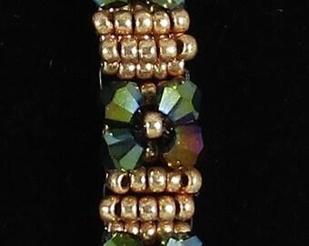 Green Bling Bracelet