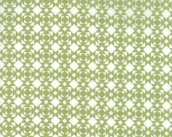 Nest Fabric by Lella Boutiquee for Moda, #5064-11, Leaf Green - IN STOCK