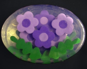 Blume Seifen benutzerdefinierte Farben