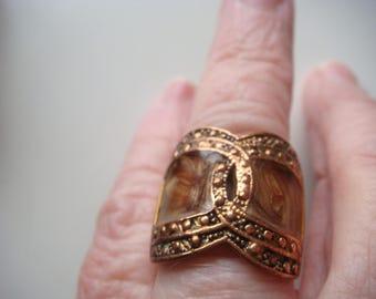 Unique Copper Ring