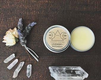 SOLID PERFUME, natural botanical perfume balm, vegan perfume