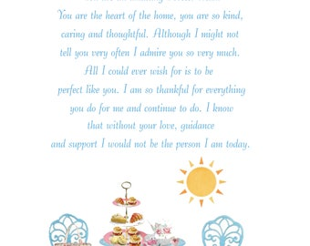 Foster Mum Mothers Day Card 2