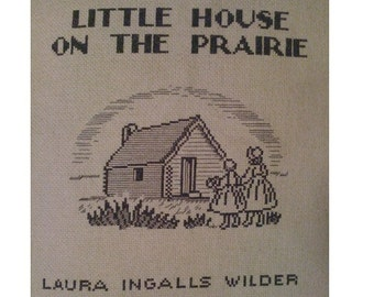 Little House on the Prairie Cross-stitch Pattern