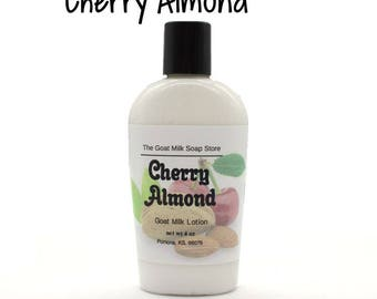 Cherry Almond Goat Milk Lotion
