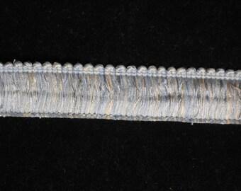 Baby Blue Brush Fringe Trim