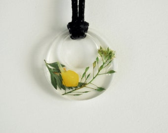 Yellow Wildflower - Pendant
