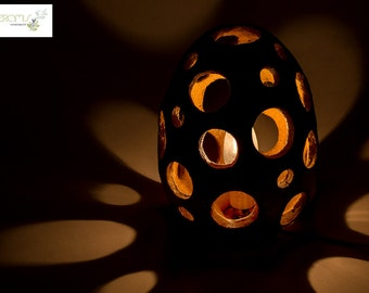 Handmade ceramic lamp