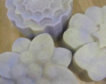 LEMON LAVENDER SALT Soap Bar / Spa Bar / Himalayan Pink Salt / Vegan Friendly / Salt Bar / Palm Free Soap / Bridesmaid Gift / Gifts for Her