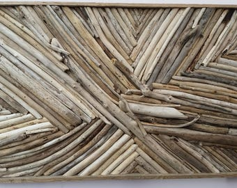 driftwood decor panel