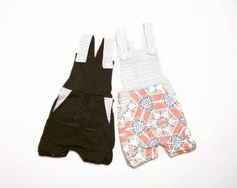 Overalls - Children's Overalls - Kids Overalls - Baby Overalls - Infant Overalls - Shorts Overalls