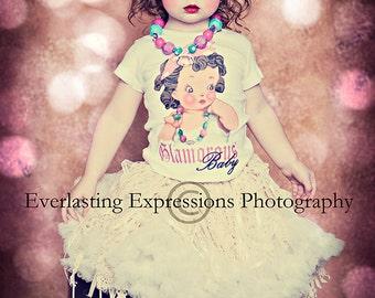 Glamor Girl tee shirt tank long sleeve one piece Glamorous girls