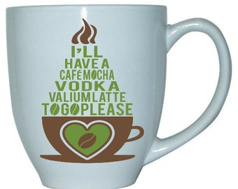 Vodka CafeMocha Coffee Cup