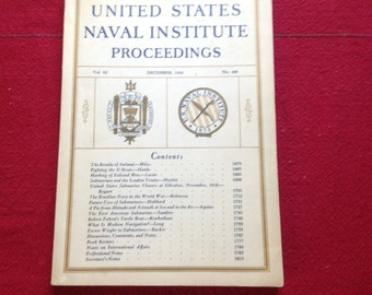 United States Naval Institute Proceedings