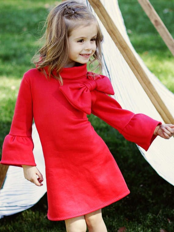 Childrens Sewing Pattern pdf Girls Dress Pattern Tunic