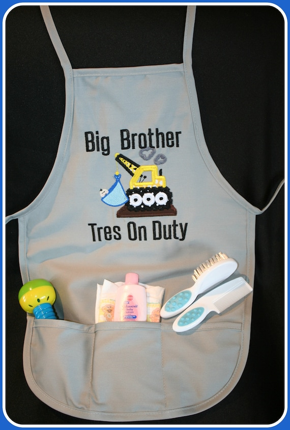 Big Brother Apron (Child Size)