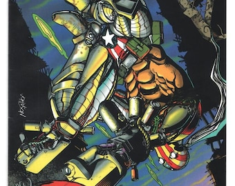 Superpatriot - Set of 2 - Issues 1 - 2 - 1993 - Modern Age - NM/MT - Image Comics