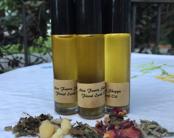 Floral Earth Herbal Oil - 10ml Clear Roller