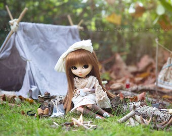 "Tirage simple 10x15cm ""Autumn Vibes"" - Pullip Isul Dal photographie, doll art collection, impression deco no BJD no Blythe"
