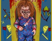 Chucky out of box A3 Prin...
