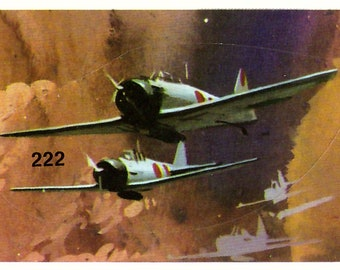 Vintage 1968 Japanese Zero Pearl Harbor Sticker in MINT Condition 222