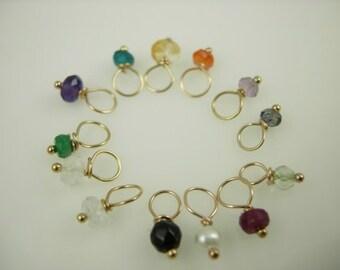 Mini Semi-Precious Stone - Gemstones - Wire Wrapped Jewelry