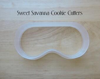 Day Spa Mask Cookie Cutter - Ski Mask Cookie Cutter