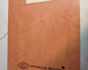 for sale is a WORLD WIDE wholesale catalog from 1959 in minneapolis, Mn